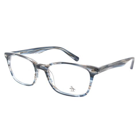 Original Penguin PE Clyde BL 50mm Unisex Storm Blue Frame Eyeglasses 50mm