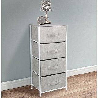 4 Drawers Chest Dresser Grey