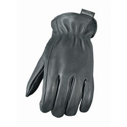 Lined Leather Motorcycle Gloves