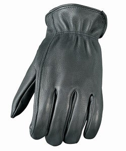 Unlined Leather Motorcycle Gloves