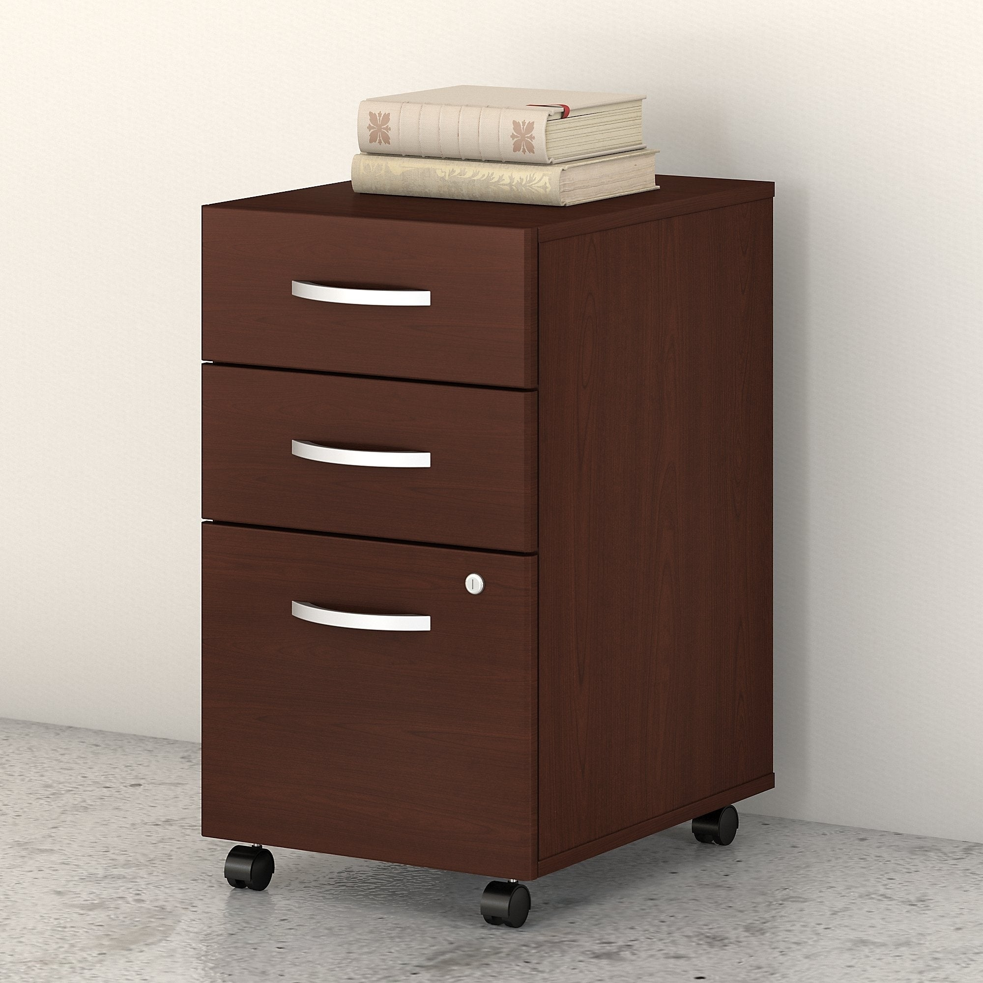 Studio C 35 Drawer Mobile File Cabinet by Bush Business Furniture