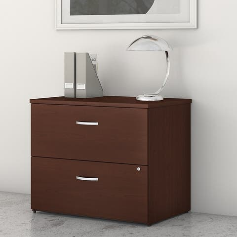 Studio C 2 Drawer Lateral File Cabinet by Bush Business Furniture