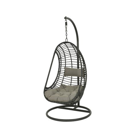 Riga Hanging Chair Black