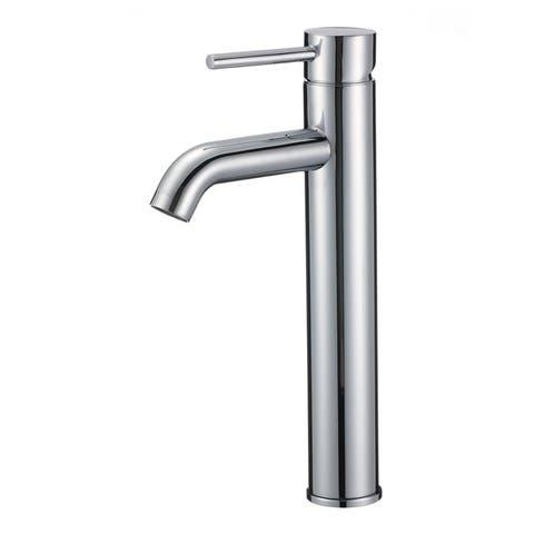 Melrose 12-Inch Single Hole Vessel Sink Bathroom Vanity Faucet