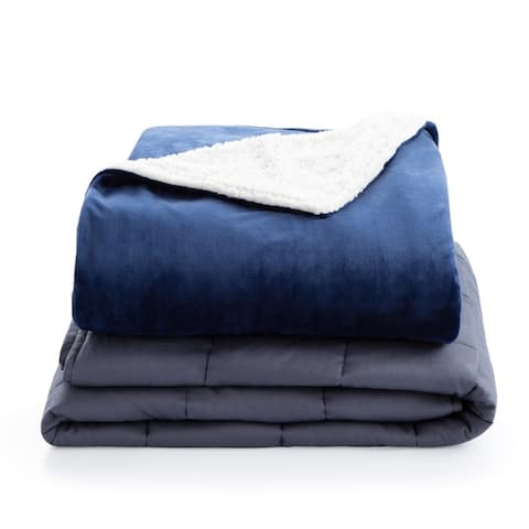 Lucid Comfort Collection Weighted Blanket Cover