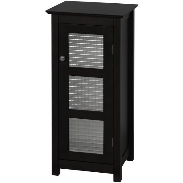 bathroom floor cabinet black windham floor cabinet with glass door by home 11478