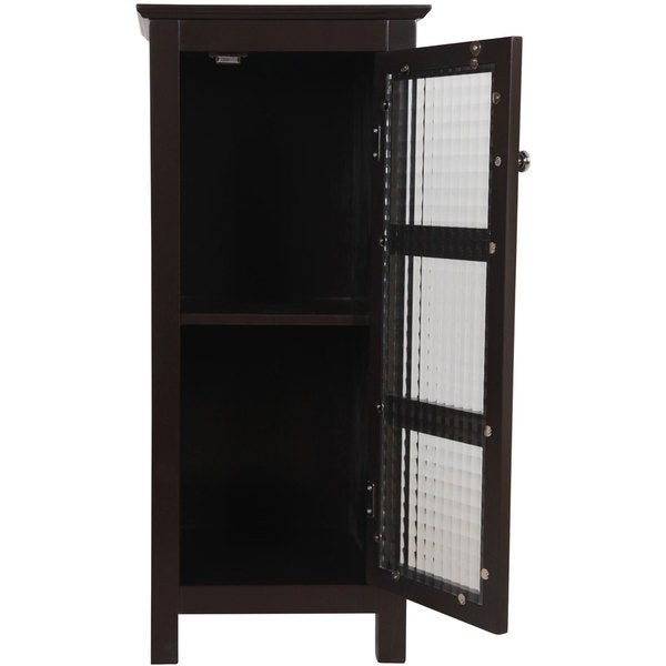 Windham Floor Cabinet with Glass Door by Essential Home ...
