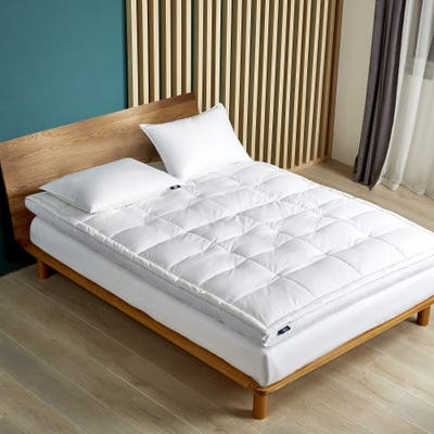 Serta 2-inch Feather And Down Fiber Top Featherbed