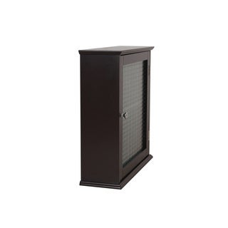 Windham Medicine Cabinet with Glass Door by Essential Home Furnishings