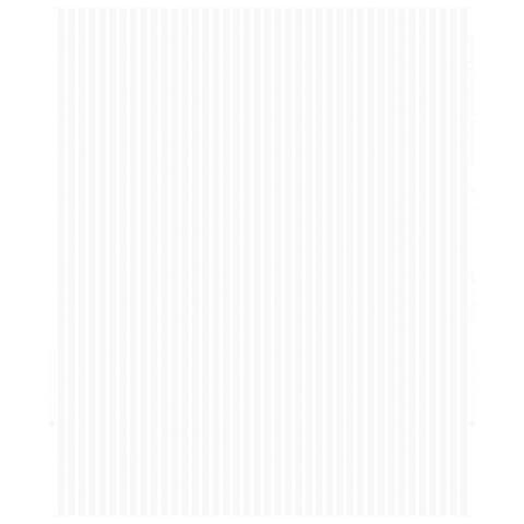 Ribbed White Paintable Wallpaper