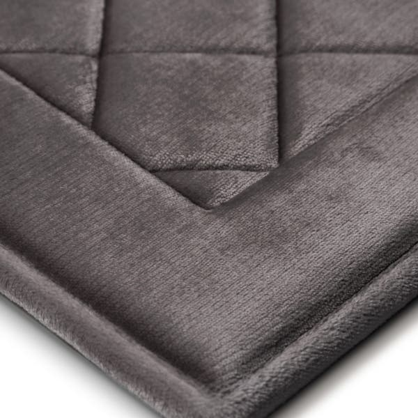 Microdry 10846 Super Soft and Cozy Memory Foam Softlux Footies Rose Petal