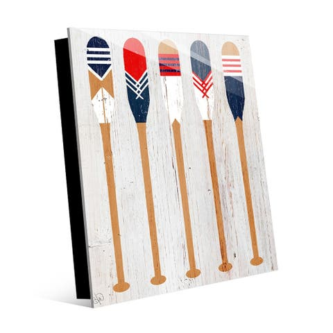 Kathy Ireland Patriot Paddles Wall Art Print on Acrylic
