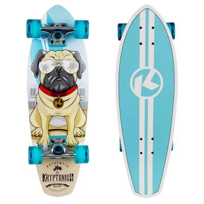 """Kryptonics Crusier Board Complete Skateboard (27"""" x 8.5"""") - 27"""""""