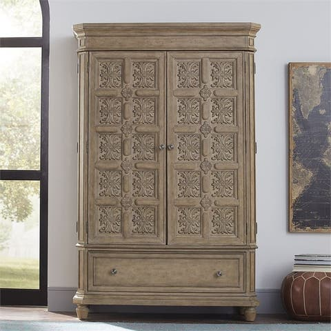 The Laurels Weathered Stone Armoire