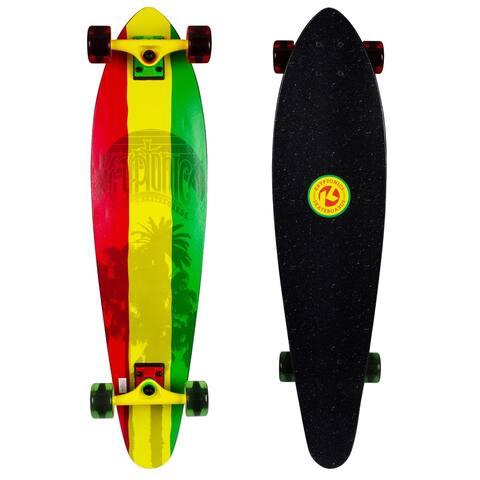 """Kryptonics Longboard Complete Skateboard (36"""" x 8.75"""") - 36"""""""