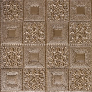 """Link to 3D LeatherLook Wall Sticker,16Block,28""""x28""""/pc - 10pc Similar Items in Wall Coverings"""
