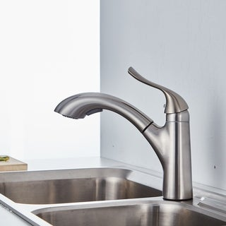"""CB HOME 8.63"""" High Luxury Vessel Pull Out Touch Single Handle Kitchen Faucet"""
