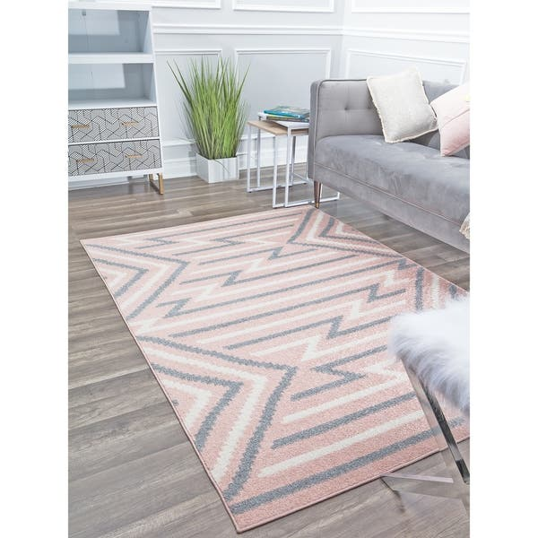 Contemporary Geometric Area Rug By Rugs