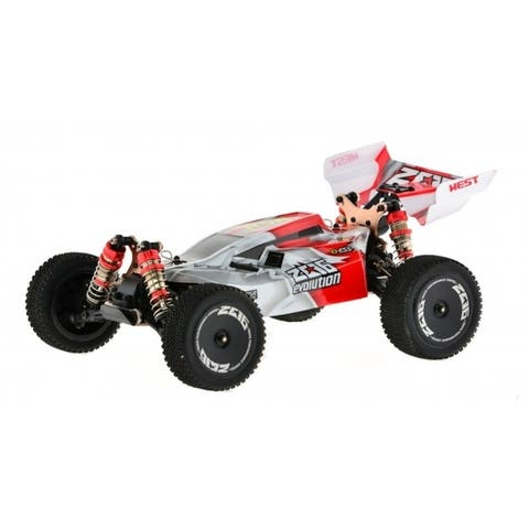 1_14 scale brushed 40 MPH 4WD FAST buggy, Red