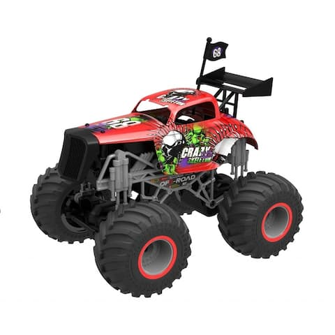 1:16 Monster jam mad max truck - Red
