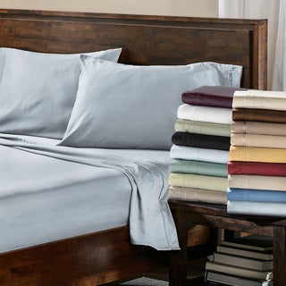 Superior Egyptian Cotton 650 Thread Count Solid Pillowcase Set (Set of 2) (4 options available)