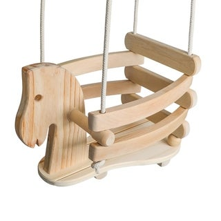 Horse Shaped Baby Swing (As Is Item)