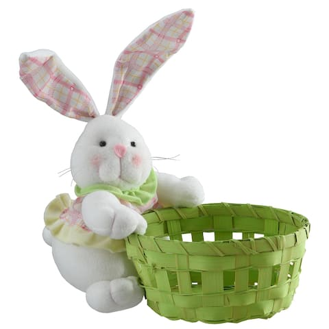 "8"" Easter Bunny and Basket"