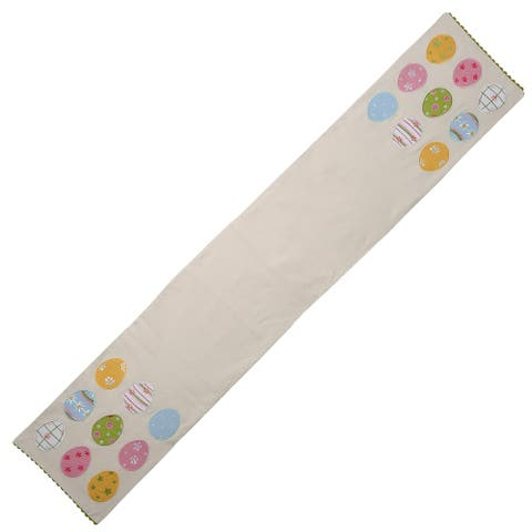 "72"" Easter Egg Table Runner"