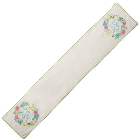"72"" ""Happy Easter"" Table Runner"