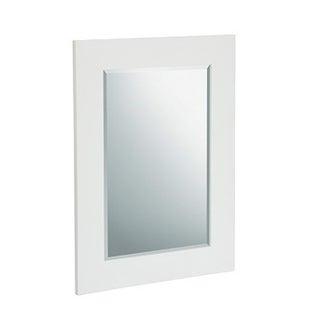 Elegant Home Fashions Boulevard Mahogany-finish Wood Wall Mirror