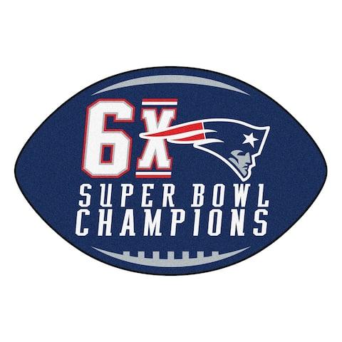 "FANMATS NFL - New England Patriots Football Mat 20.5""x32.5"""
