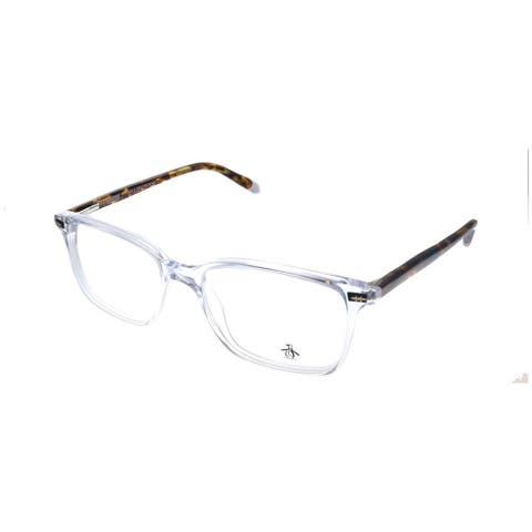 Original Penguin PE Leopold CR Unisex Crystal Frame Eyeglasses 53mm