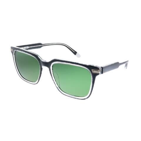Original Penguin PE Suspender2.0 BK Unisex Black Frame Green Polarized Lens Sunglasses