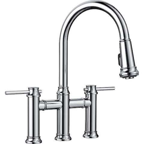 Blanco Empressa 1.5 GPM Pull-Down Bridge Faucet