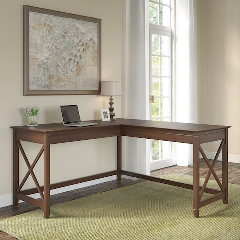 The Gray Barn Hatfield 60-inch L-shaped Desk