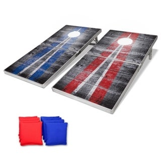 Link to GoSports LED Rustic Design Cornhole Set, Regulation Size Bean Bag Toss Game Set - Foldable Design Similar Items in Outdoor Play