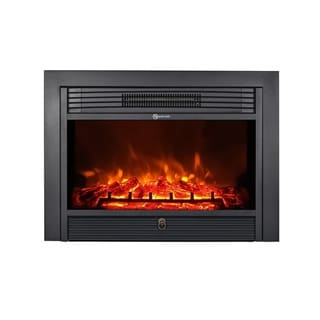 """Link to TopLife Electric Fireplace, insert style, fits into opening 25"""" W x 19.5 H"""" Similar Items in Fireplaces"""