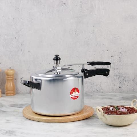Wonderchef Inner Lid Indian Cooking Aluminum Pressure Cooker