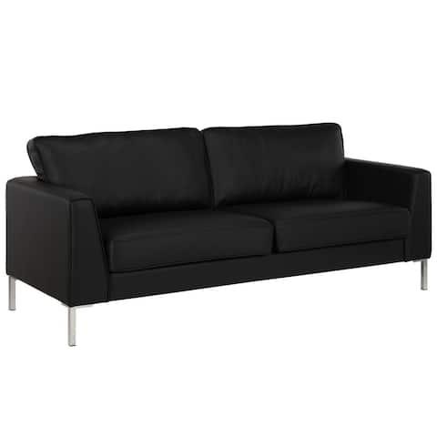 Dorel Living Maynard Black Sofa