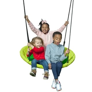 Creative Cedar Designs Kids Saucer Swing- 40""