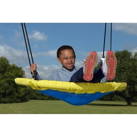 "Creative Cedar Designs Kids Saucer Swing- 40"""