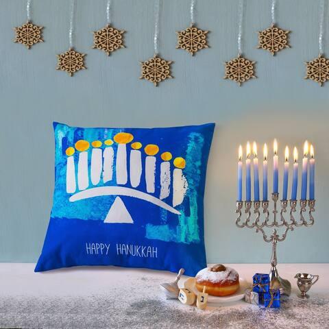 20x20 Decorative Pillow/Hanukkah