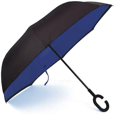 Double Layer Inverted Umbrella, Windproof UV Protection Umbrella