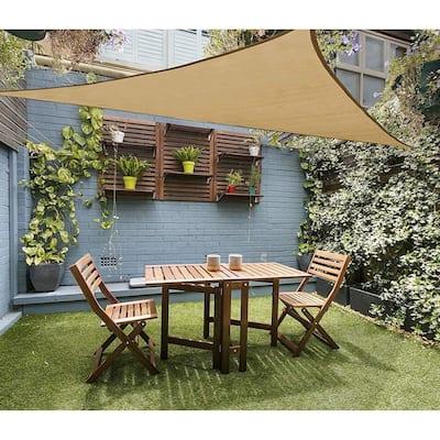 16x16x16 Feet Triangular Shape Super Durable Sun Sail For Outdoor Use - 16x16x16Triangle
