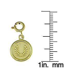 14k Yellow Gold Seven Wishes 'Prosperity' Charm