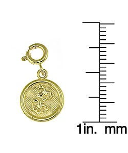 14k Yellow Gold Seven Wishes 'Friendship' Charm