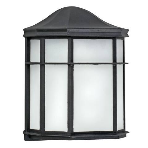 Porch Black LED Outdoor Light