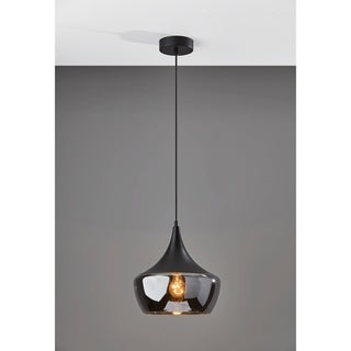 Link to Adesso Black or Steel Eliza Pendant Lamp Similar Items in Pendant Lights