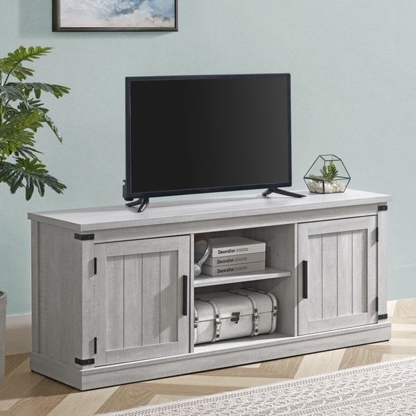 58-in. TV Stand for TVs up to 65 inches. Opens flyout.