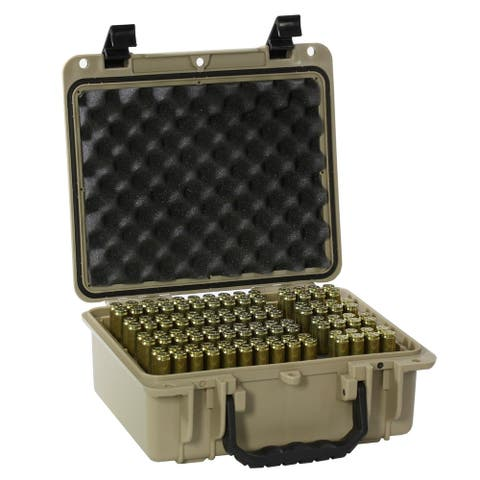 Bullet Vaults Waterproof Competition Precision Ammo Case 112 Rounds